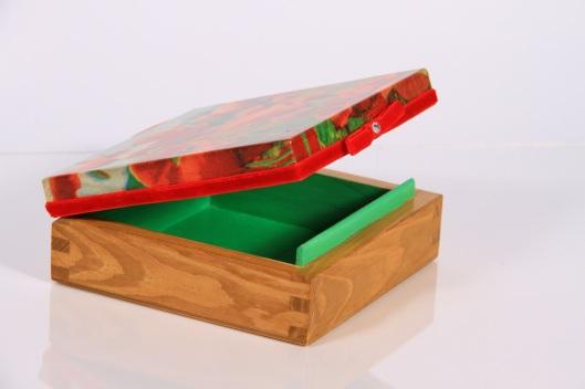 decoupage maki pudełko na prezent ręcznie robione szkatułka dla niej prezent wielkanoc
